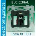 Toma de teléfono BJC Coral