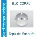 Tapa para Toma de corriente BJC Coral Blanco