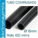Rollo 100 mtrs tubo coarrugado M16