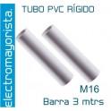 Tubo PVC Rígido M16 (3 mtrs)