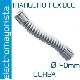 Manguito Flexible 40 mm (Curba)