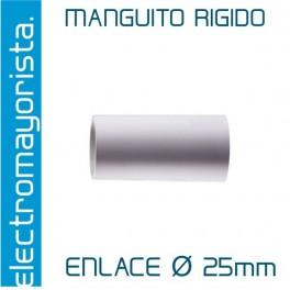 Manguito rígido 25 mm (Empalme)
