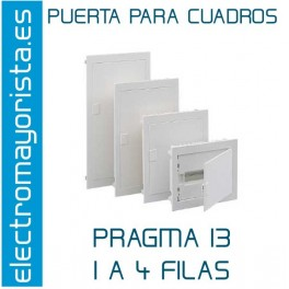 PUERTA PLENA 3 FILAS PRAGMA 13 SCHNEIDER