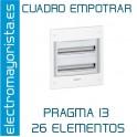 CUADRO EMPOTRAR 26 ELEMENTOS SCHNEIDER
