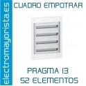 CUADRO EMPOTRAR 52 ELEMENTOS SCHNEIDER