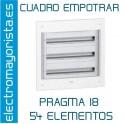 CUADRO EMPOTRAR 54 ELEMENTOS SCHNEIDER