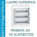 CUADRO SUPERFICIE 72 ELEMENTOS SCHNEIDER