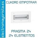 CUADRO EMPOTRAR 24 ELEMENTOS SCHNEIDER