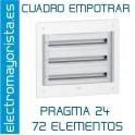 CUADRO EMPOTRAR 72 ELEMENTOS SCHNEIDER
