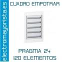 CUADRO EMPOTRAR 120 ELEMENTOS SCHNEIDER