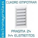 CUADRO EMPOTRAR 144 ELEMENTOS SCHNEIDER