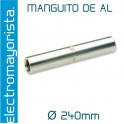 Manguito Al 240 mm2