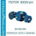 MOTOR 0.17CV 3000 RPM TRIF. B3/B5/B14