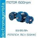 MOTOR 7.5CV 1500 RPM TRIF. B3/B5/B14