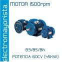 MOTOR 60CV 1500 RPM TRIF. B3/B5/B14