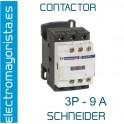 CONTACTOR 3P 9A  1NO+1NC