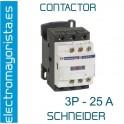 CONTACTOR 3P 25A  1NO+1NC