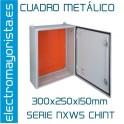 CUADRO METÁLICO 300x250x150mm