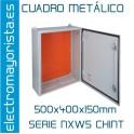 CUADRO METÁLICO 500x400x150mm