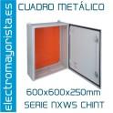 CUADRO METÁLICO 600x600x250mm