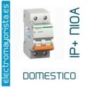I. magnetotérmico 1P+N 10A Schneider (Domestico)
