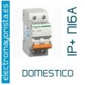 I. magnetotérmico 1P+N 16A Schneider (Domestico)