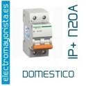 I. magnetotérmico 1P+N 20A Schneider (Domestico)