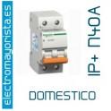 I. magnetotérmico 1P+N 40A Schneider (Domestico)