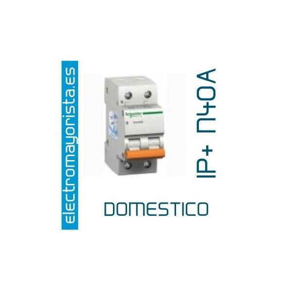 Interruptor magnetotermico 1p n40a - Interruptor magnetotermico precio ...