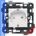 BASE 2P+10/16A 250V BLANCA ECO60