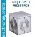 ARQUETA DE REGISTRO 400x400x400 C/TAPA