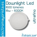 Downlight Led 18 W 6000 ºK BLANCO