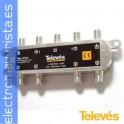 PAU REPARTIDOR 7S CONECTOR F-ROSCADO.(1 ud)