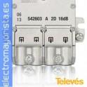 DERIVADOR 2D 16dB CONECT. BRIDA.(1 ud)