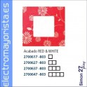 FUNDA 1 ELEMENTO SIMON 27 PLAY RED/WHITE