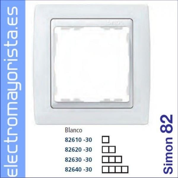 Marco 2 elementos blanco simon 82 simon ref - Simon 82 blanco ...