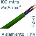 Cable Cobre 2 x 1,5 mm2 RV-K