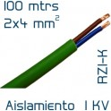 Cable Cobre 2 x 4 mm2 RV-K