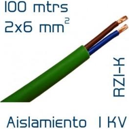 Cable Cobre 2 x 6 mm2 RV-K