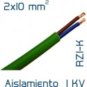 Cable Cobre 2 x 10 mm2 RV-K
