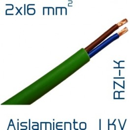 Cable Cobre 2 x 16 mm2 RV-K