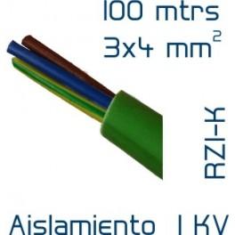 Cable Cobre 3 x 4 mm2 RV-K