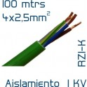 Cable Cobre 4 x 2,5 mm2 RV-K