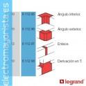 ANGULO PLANO 32x35 FLUIDQUINT LEGRAND