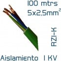 Cable Cobre 5 x 2,5 mm2 RV-K