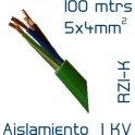 Cable Cobre 5 x 4 mm2 RV-K