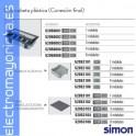 CAJA SUELO 70mm 4 MODULOS 500 CIMA GRIS SIMON CONNECT