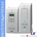 VARIADOR DE FRECUENCIA 3,7 KW (5CV) PAR VARIABLE / 2,2 KW (3CV) PAR CONSTANTE MARCA LS (LG) SV0022IS7-4NOFD