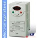 VARIADOR DE FRECUENCIA 0,4 KW (0,5CV) ENTRADA MONOFASICA MARCA LS (LG) SV022IC5-1F