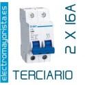 Magnetotérmico 2P 16 A (Terciario)